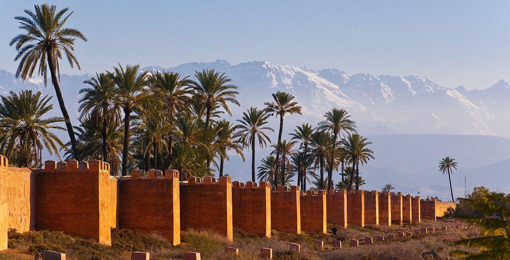 Découvrez les remparts de Marrakech