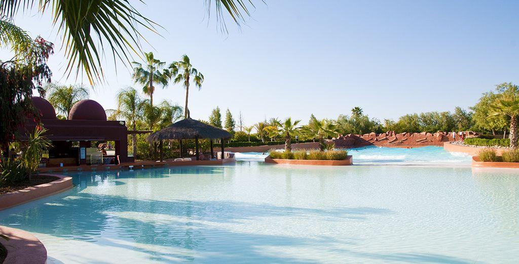 Les enfants vont adorer le parc aquatique Oasiria Marrakech