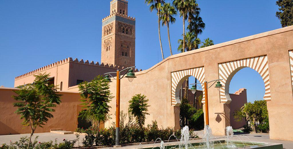 Photographie de Marrakech et ses mosquées