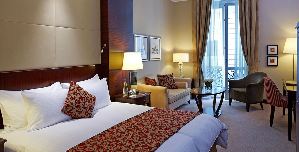Hôtel de luxe 5 étoiles avec chambre double