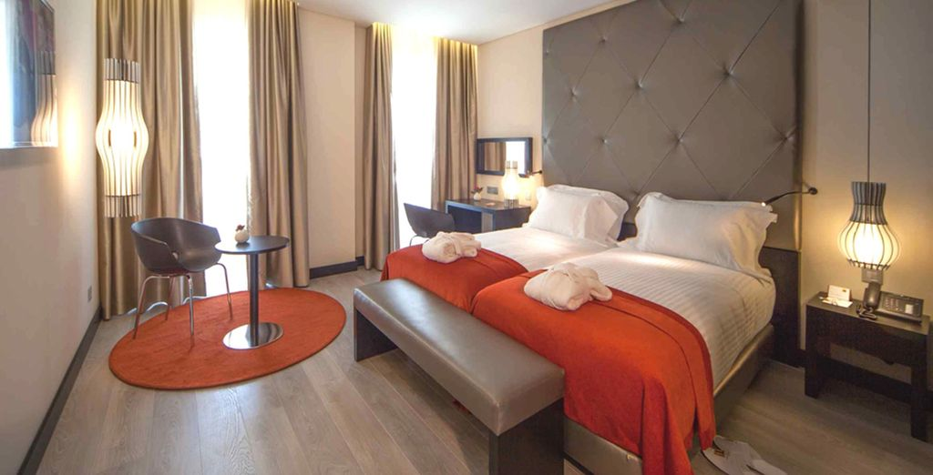 Location d'hébergement haut de gamme avec lit double et chambre tout confort au centre de Lisbonne