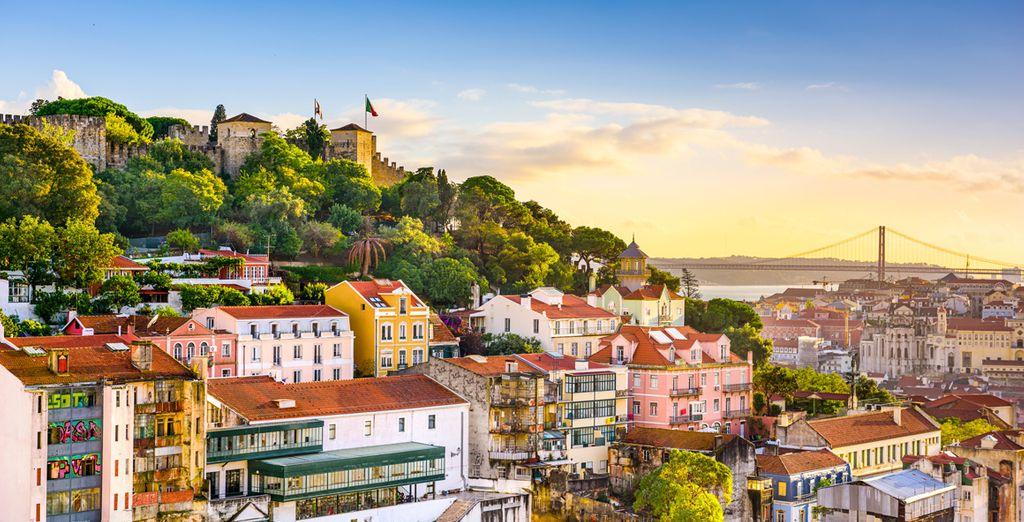 Profitez de vacances au soleil à Lisbonne, Portugal