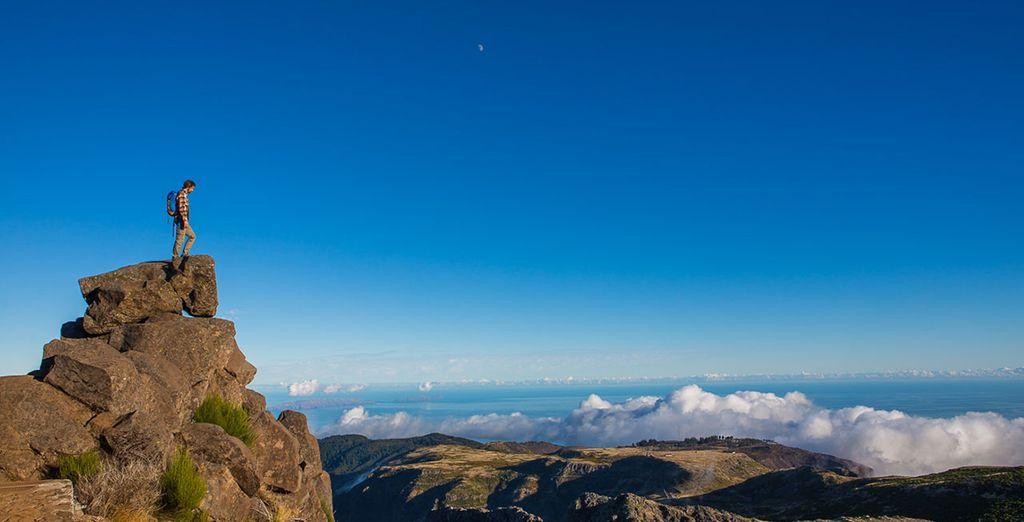 Paysages de Madère et randonnées sportives