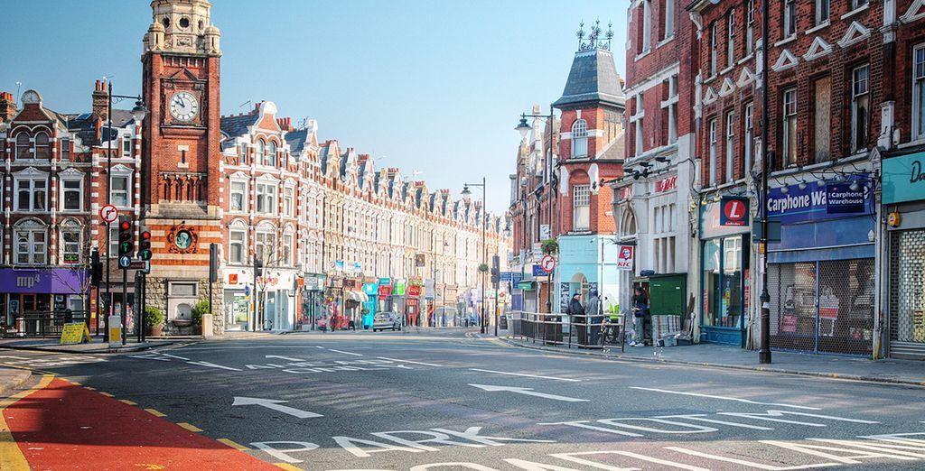 Photographie de la ville de Londres et ses quartiers animés