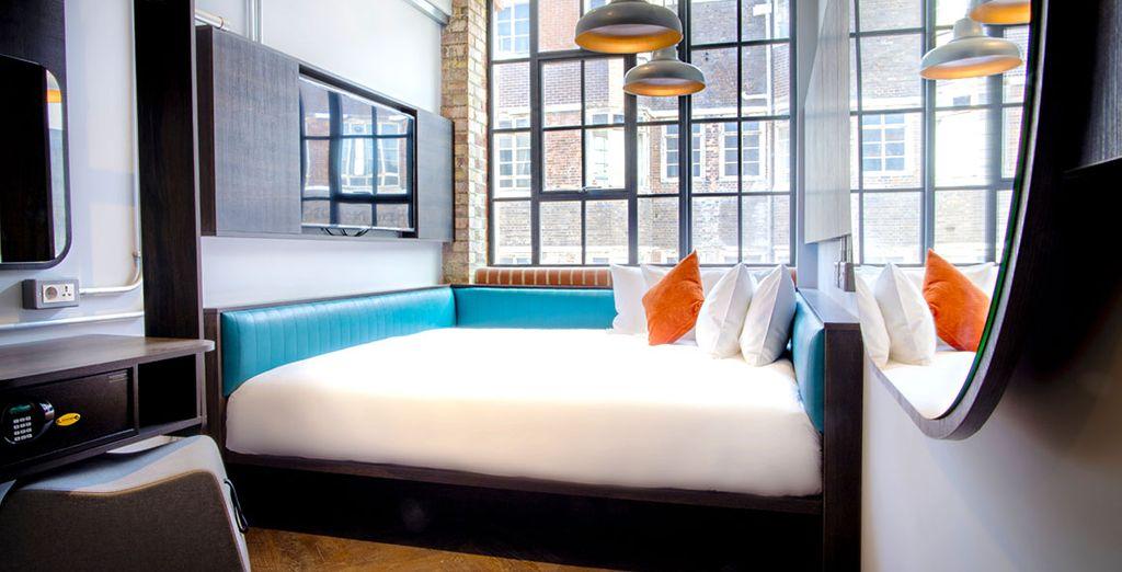 Hôtel haut de gamme à Londres tout confort avec lit double et à proximité de toutes activités