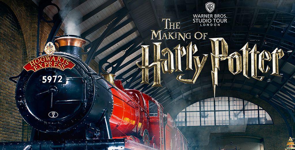 Visitez les Studios Harry Potter