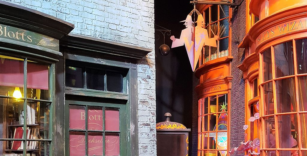 Le Chemin de Traverse aux Studios Harry Potter