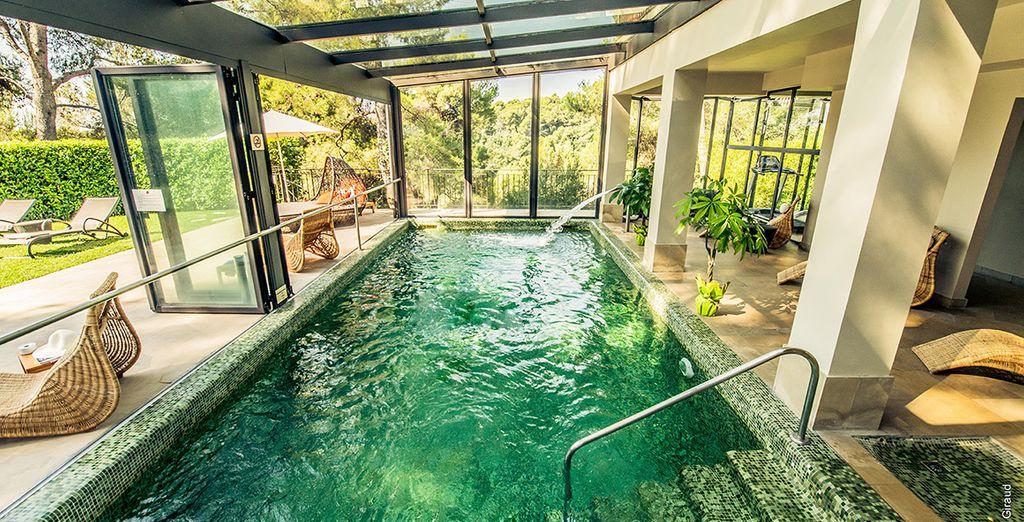 Hôtel de luxe avec spa à Nice