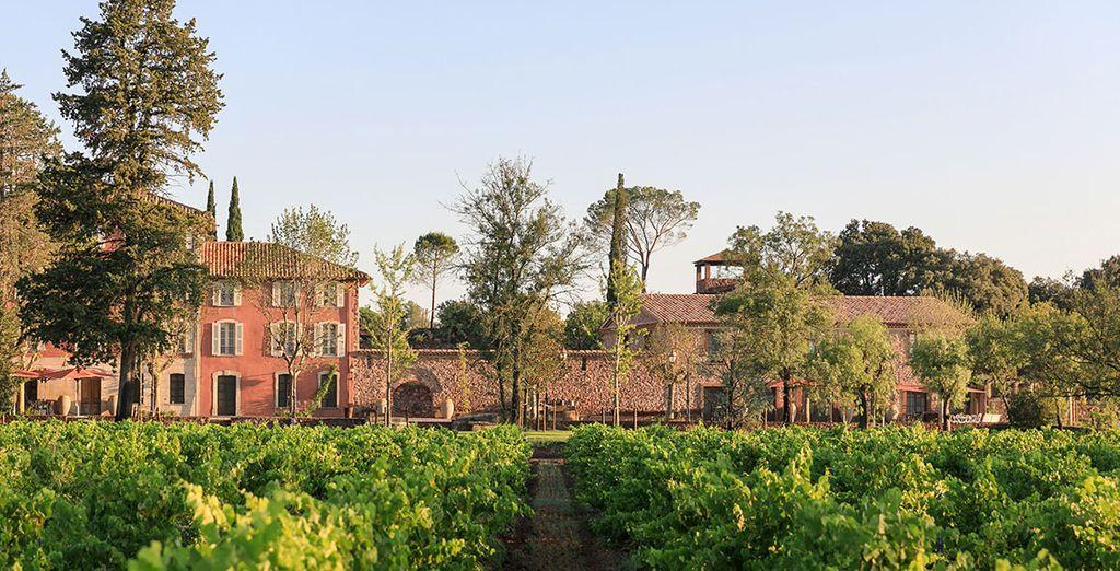 Le Château Saint Roux avec Voyage Privé