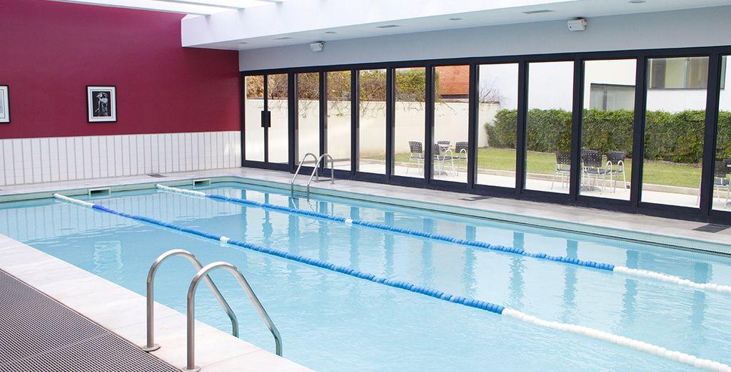 Offrez-vous également à un moment de détente dans la piscine intérieure