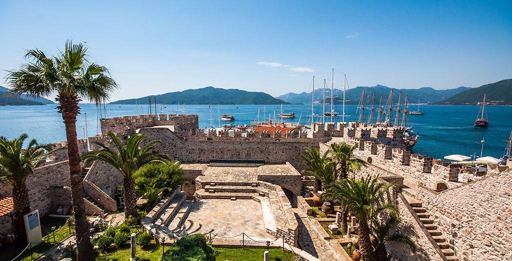 Remontez l'histoire du pays et admirez la beauté de son château