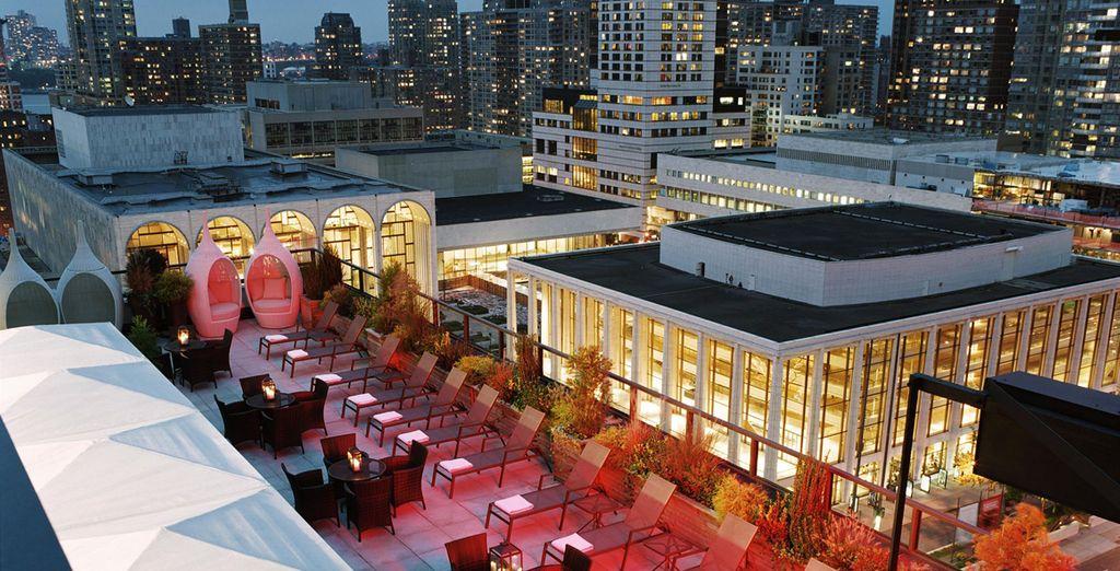 Accordez-vous un moment sur une terrasse new-yorkaise... - The Empire Hôtel 4* New York