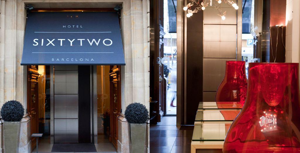 Bienvenue à l'hôtel SixtyTwo !