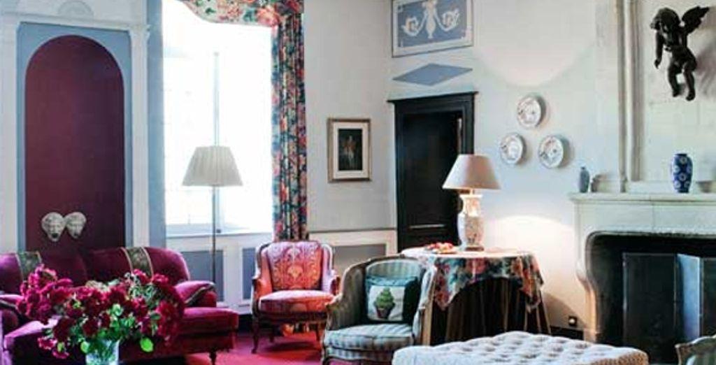 Un salon commun du Château