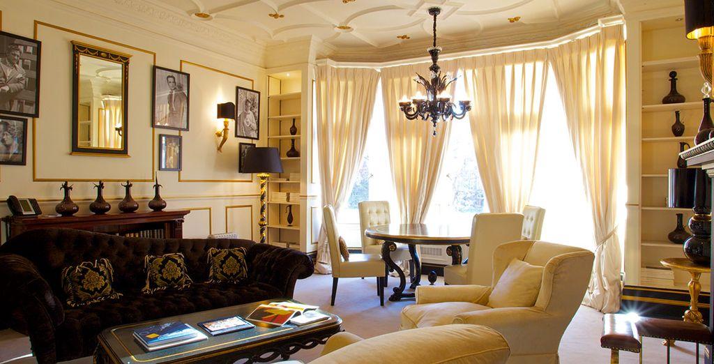 De style baroque et plein de charme situé au cœur de Londres