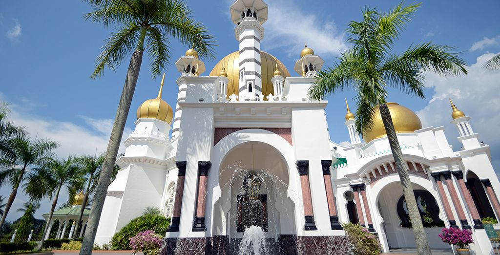 Et la majesté des mosquées !