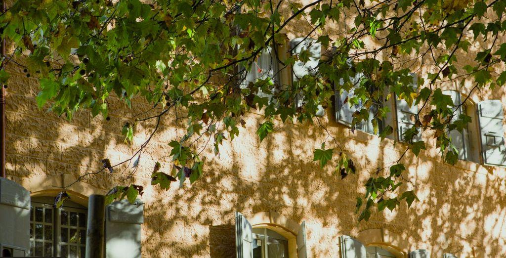 N'oubliez pas de profiter de l'ensoleillement de la Provence