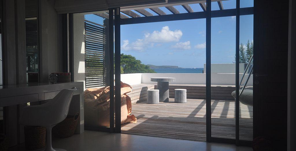 Une vue sur la mer et les îles du nord depuis votre chambre !