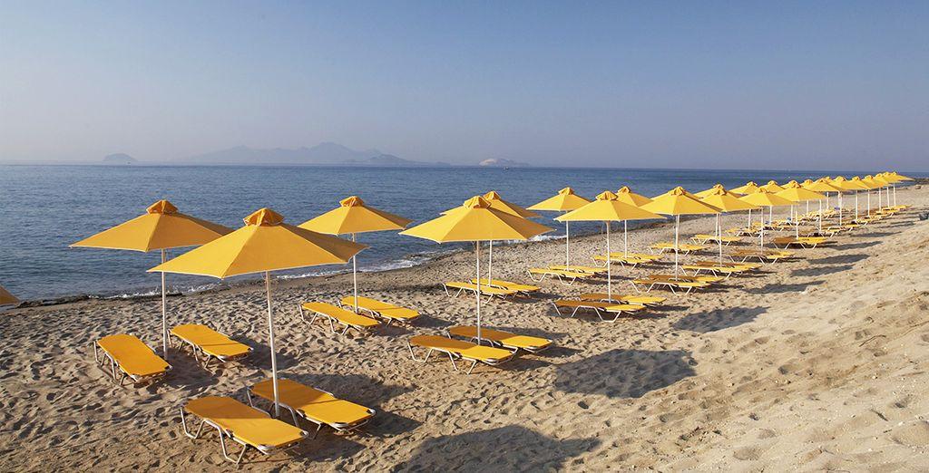 Et de l'accès direct sur plage