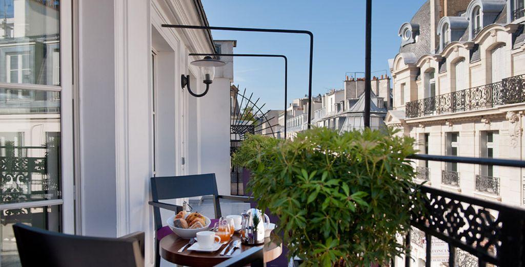Posez vos valises en plein coeur de Paris - Hôtel Monna Lisa 4* Paris