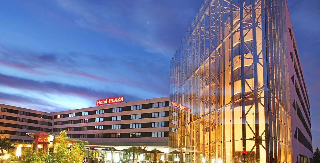 L'hôtel Plaza Futuroscope, situé à 500 mètres à peine du parc, vous ouvre ses portes - Hôtel Plaza **** - Site du Futuroscope Poitiers