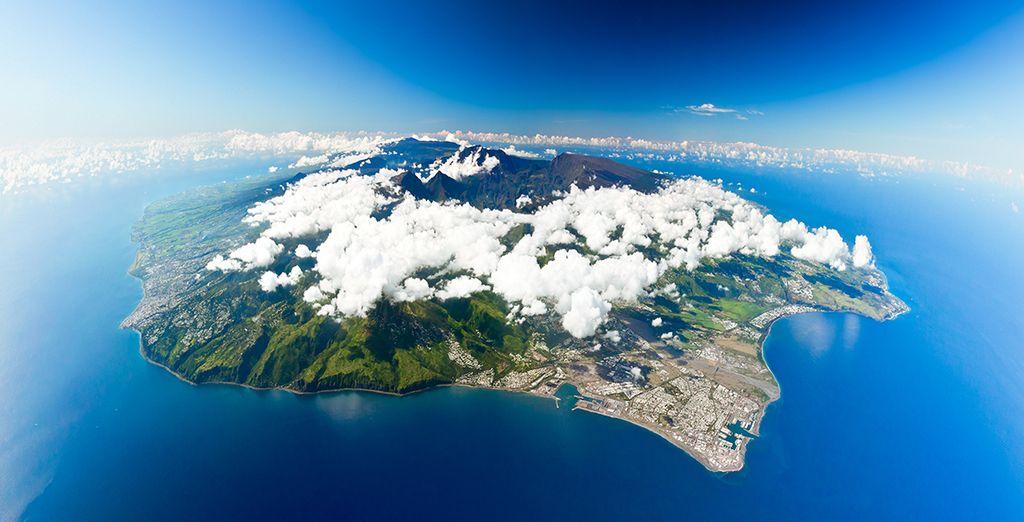 En route pour l'île de la Réunion...