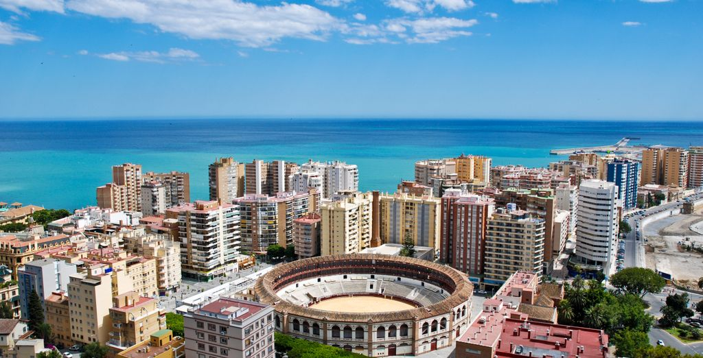 la trépidante Malaga