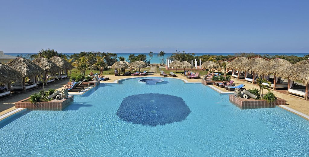 À l'hôtel Paradisus Varadero 5*