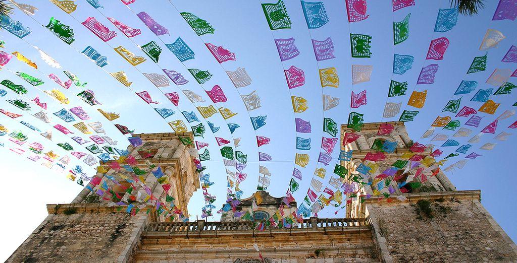 où la ville animée de Valladolid.