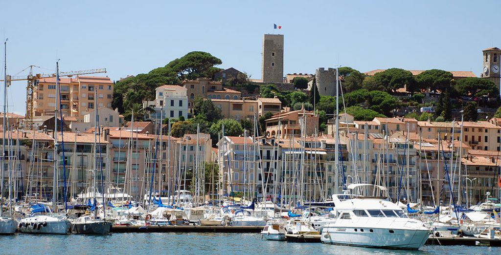 Embarquez pour la belle Cannes !