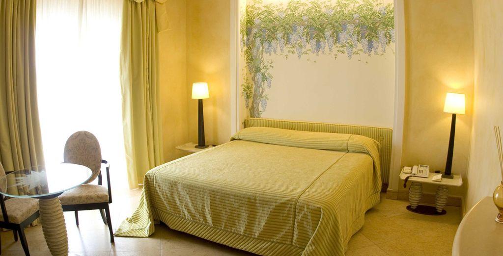 En confortable chambre Standard