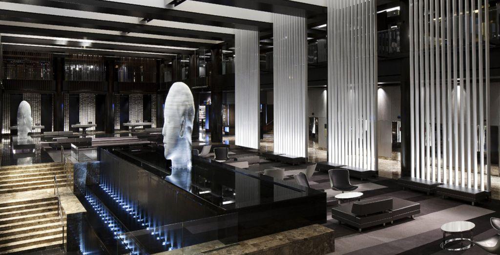 Et prenez place au Grand Hyatt New York
