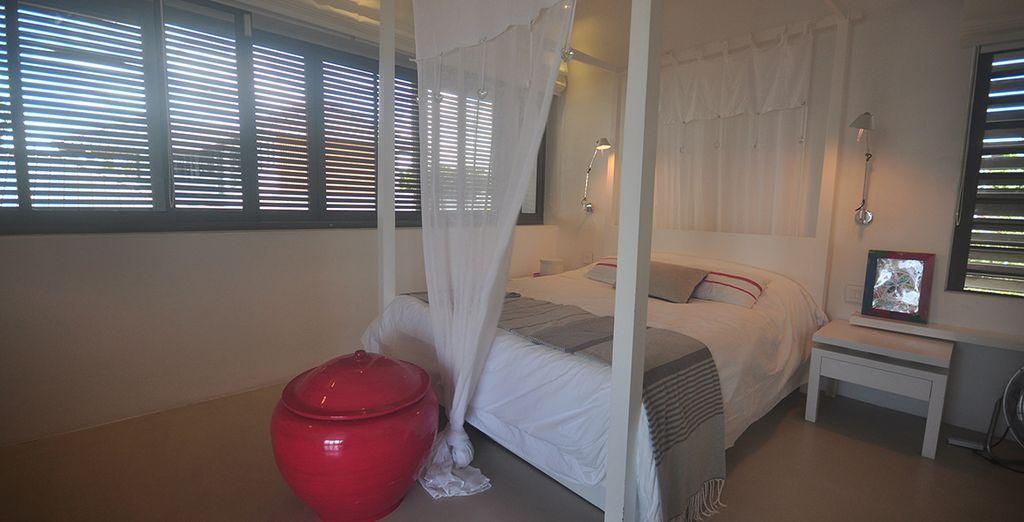Une autre chambre tout aussi confortable