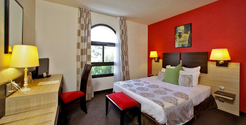 Logé en chambre Confort... - Hôtel de Selves 4* Sarlat