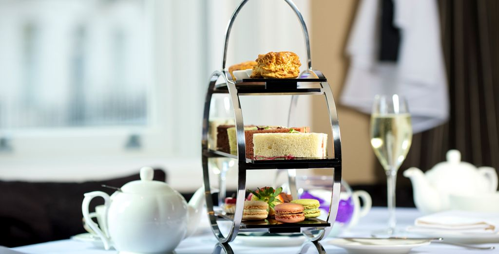 Ne ratez pas le très célèbre Afternoon Tea...