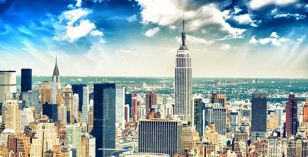 Envolez-vous pour New-York !