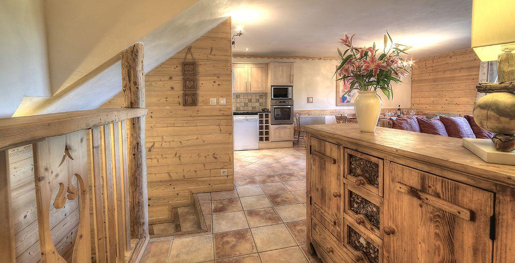 Vous aurez le choix entre 2 superbes appartements aux intérieurs spacieux et plein de charme