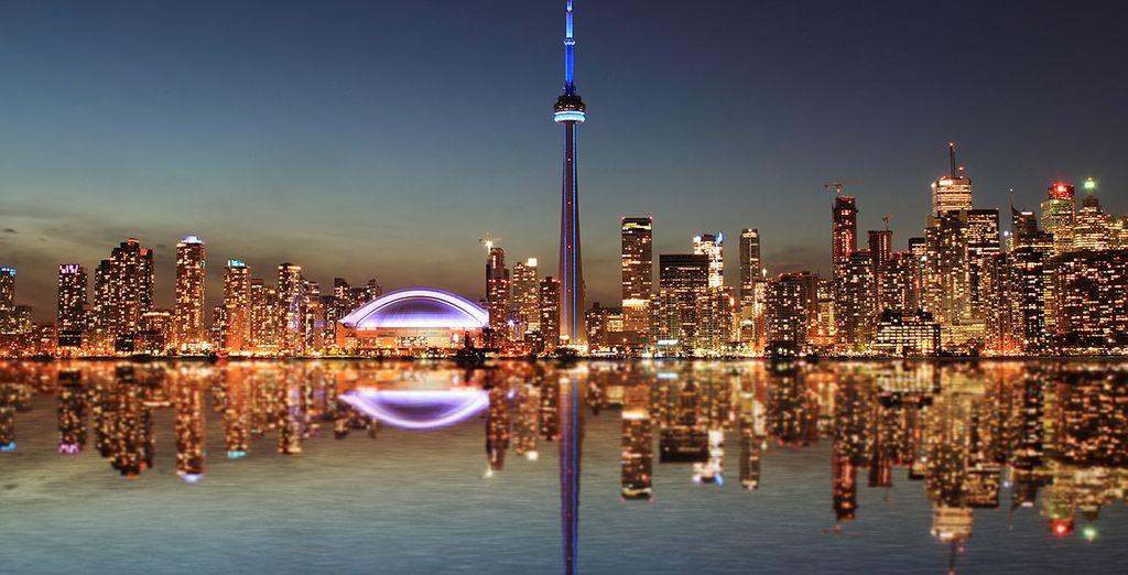 Photographie de la ville de Toronto au Canada