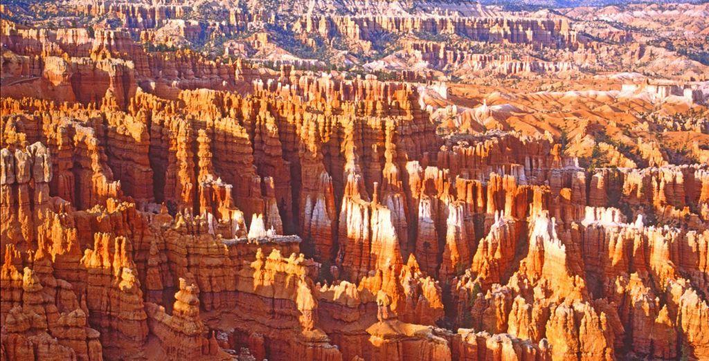 Au petit matin, un parc féerique s'offre à vous : Bryce Canyon !