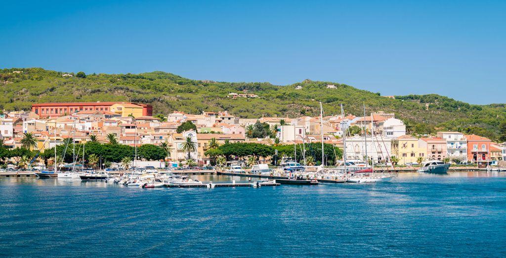 Bienvenue sur l'île de San Pietro