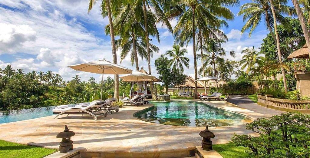 Et découvrez le cadre enchanteur du Viceroy Bali 5*