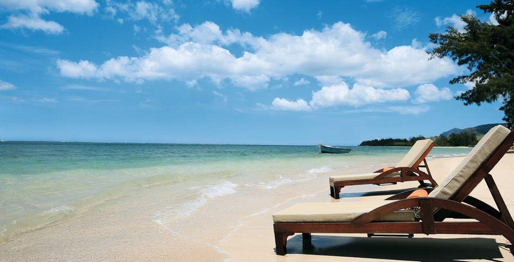 L'Heritage Awali est délicatement posé face à l'océan Indien - Heritage Awali Golf & Spa Resort 5* Bel Ombre