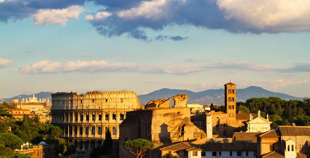 Rome vous attend à 15 kilomètres à peine