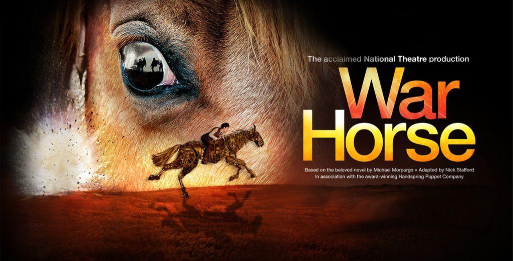 Partez pour une aventure épique... - Spectacle War Horse Musical + nuit d'hôtel au Cumberland Hôtel, à Guoman Hotel 4* Londres