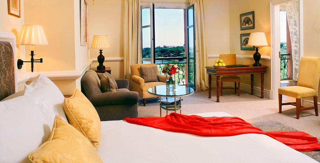 Sur place vous découvrirez de magnifiques chambres
