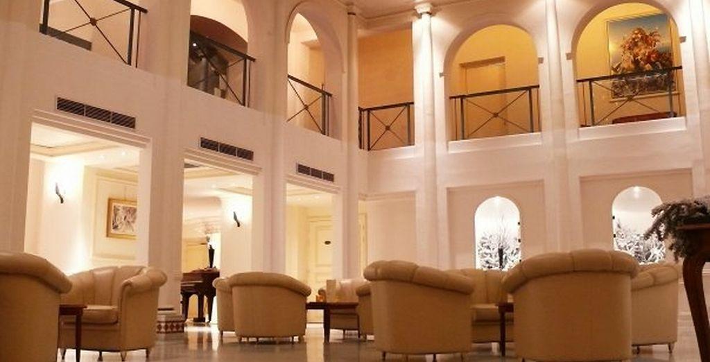 A l'hôtel Boscolo Park B4 - Boscolo Park B4 **** Nice