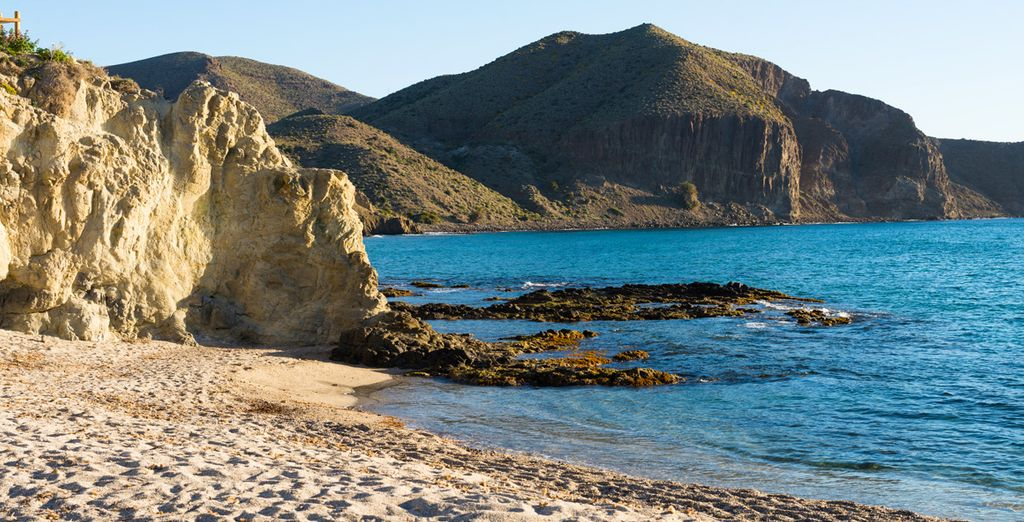 Et les plages vierges des parcs naturels de la région