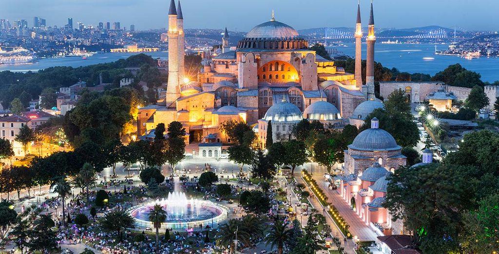 Bon séjour à Istanbul !