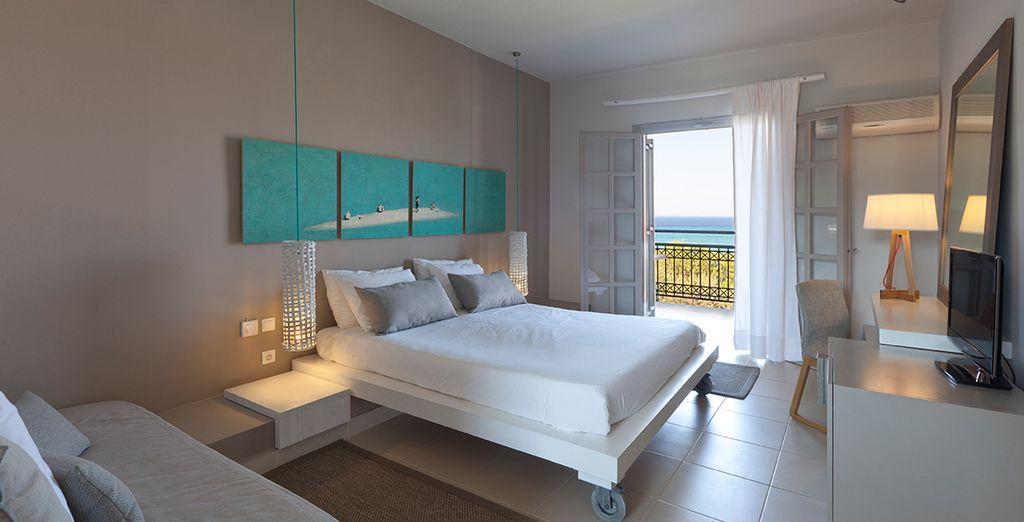 Découvrez votre hébergement spacieux et moderne