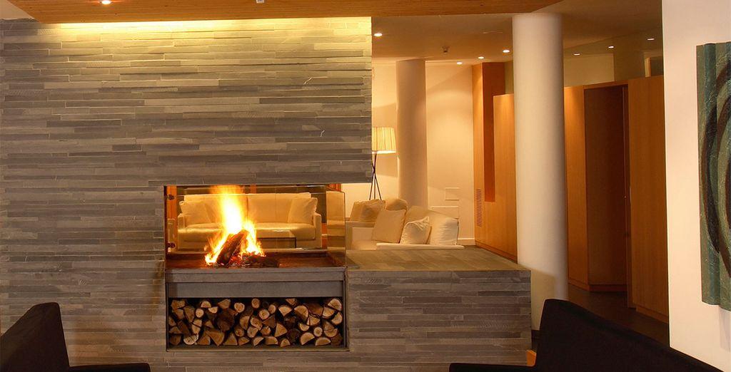 Avant de vous blottir au coin du feu et de profiter de vos vacances ! Bon séjour